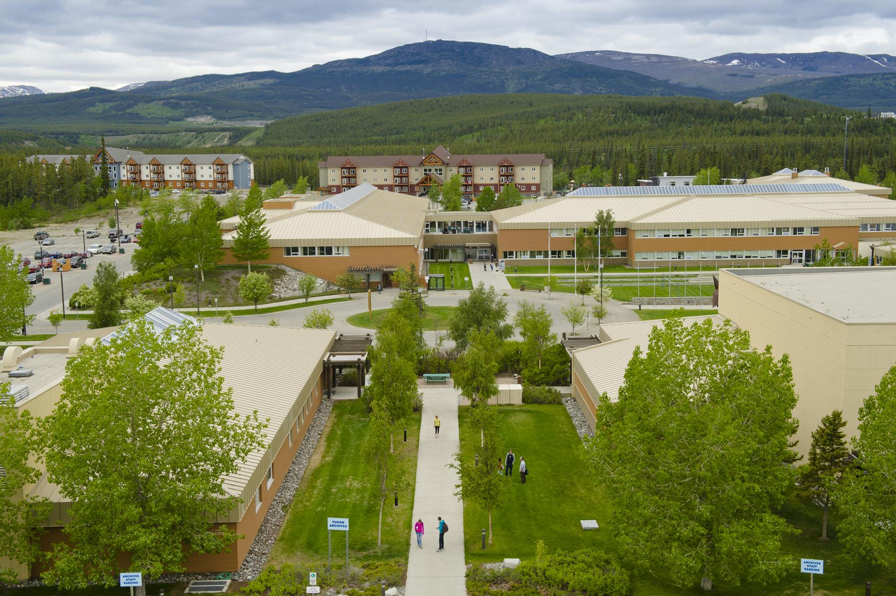 Yukon University campus